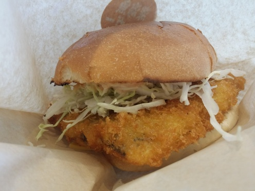 Deepsea Fish Burger